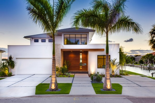 modern beach bungalow
