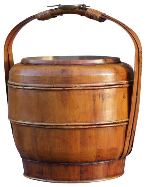 gilt ornate chinese basket