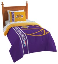 Shop Houzz   The Northwest Company Lakers Comforter Bed In ...