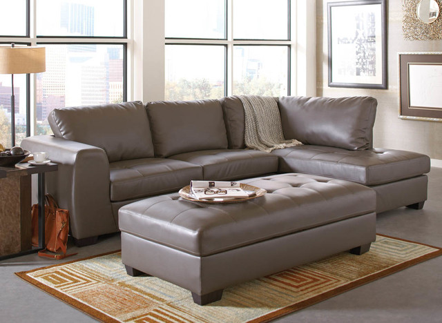 right arm facing sofa left chaise how do you remove permanent marker from leather joaquin grey sectional - modern sofas ...