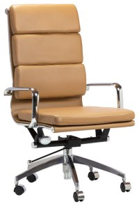 Design Tree Home Soft Pad Executive Chair, High-Back ...