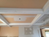 Coffered Ceiling Paint Sheen and Color