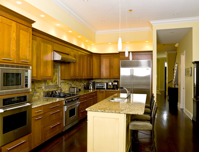 wood and stainless steel kitchen island cabinets for less reviews timeless elegance - traditional chicago by ...