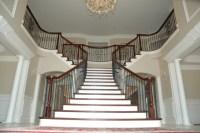 Double Radius Flare - Traditional - Staircase - DC Metro ...