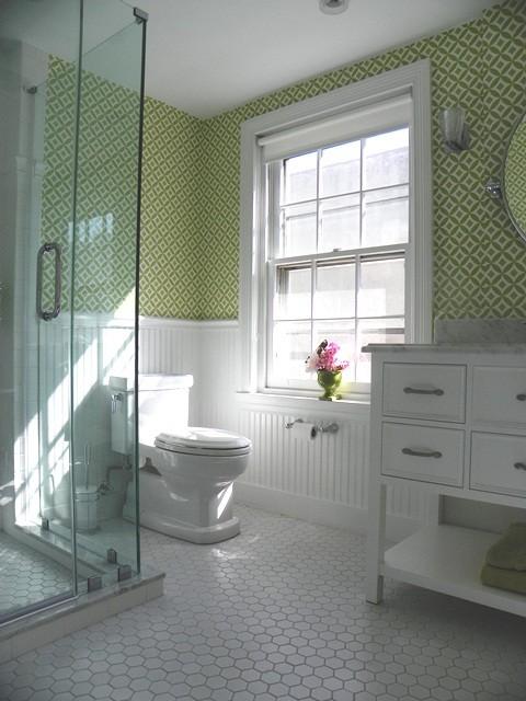 Girls Bathoom Vintage Style  Traditional  Bathroom