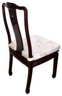 Oriental Dining Side Chair Made of Solid Rosewood and Hand ...