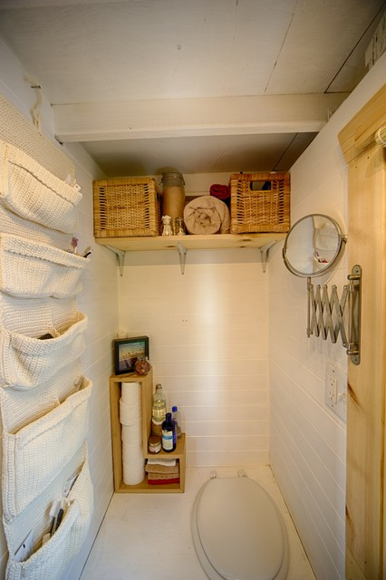 Our Tiny Tack House Rustic Bathroom Seattle By The
