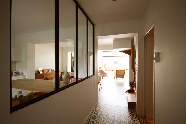 Rnovation maison de ville Rennes  Contemporain  Entre  Rennes  par Delphine Le Fur