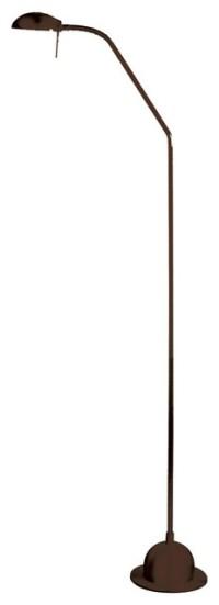 Adjustable Gooseneck Floor Lamp, Oil Brished Bronze ...