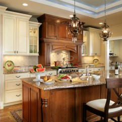 Rooster Kitchen Rugs Glass Tile Countertop Traditional With Contrasting Island And Hood ...