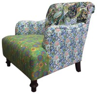 Jazztine Colorful Arm Chair - Eclectic - Armchairs And ...