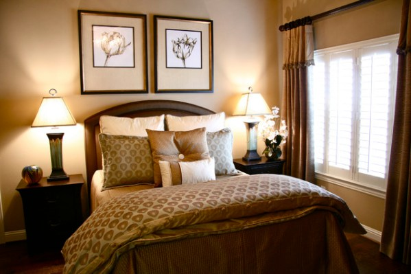 traditional style master bedroom Neutral Master Suite - Traditional - Bedroom - Dallas - by