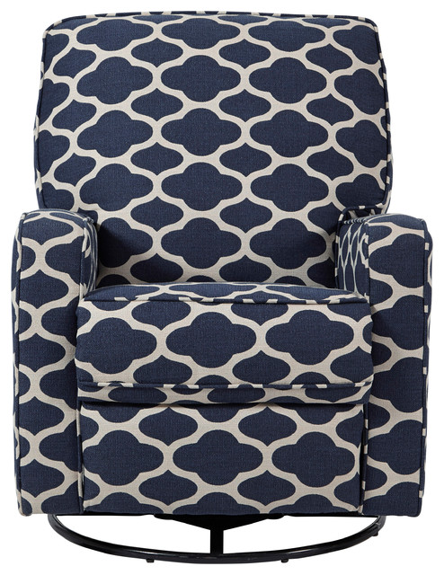 blue glider chair replacement patio cushions upholstered wrapped foam plastic with