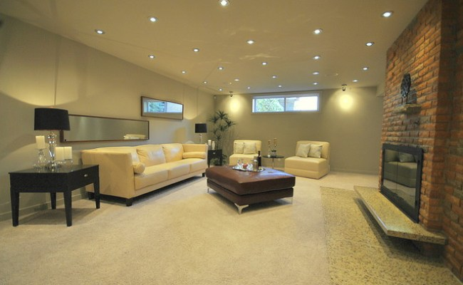 Fully Finished Basement Family Room In Totally Renovated 2