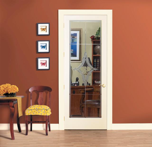 Madison Decorative Glass Interior Door