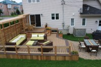 Cheap privacy landscaping for property lines, garden ...