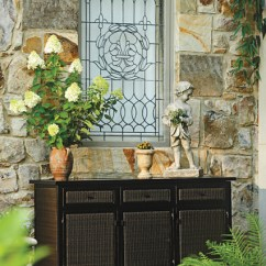 Sofas Birmingham Light Brown Chesterfield Sofa Resin Wicker Outdoor Buffet With Storage - Traditional ...
