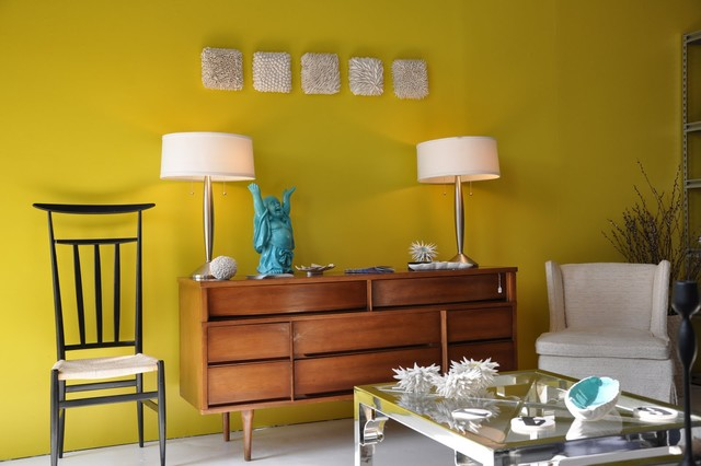 Midcentury Living Room By Heather Knight