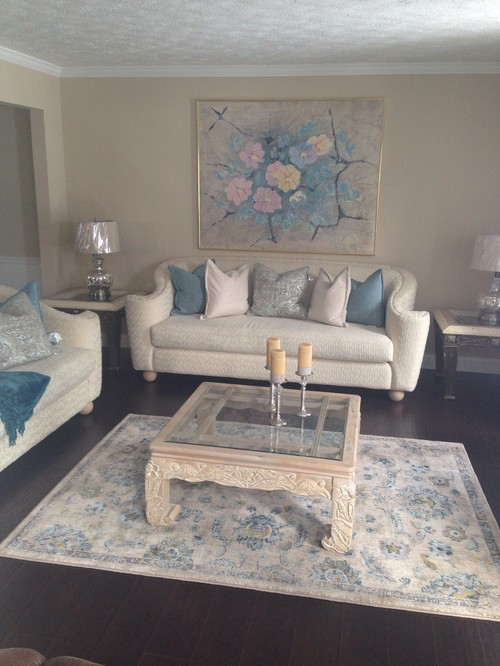 Redecorating with existing furniture