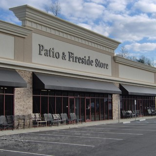 patio and fireside store project