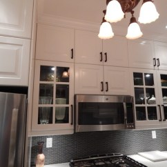 Ikea Kitchens Cabinets On Clearance - Lidingo Gray And White With Stacked Wall ...