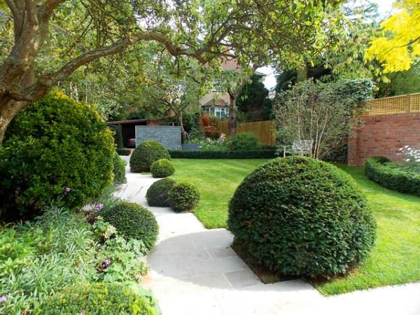 transitional garden