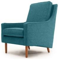 Garfield Mid Century Modern Chair - Midcentury - Armchairs ...