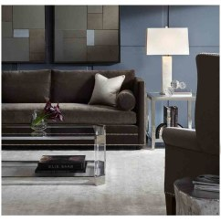 Accent Living Room Chairs With Arms Baby Bjorn Booster Chair Bardot Sofa & Melrose Tables - Modern Charlotte By Mitchell Gold + Bob ...