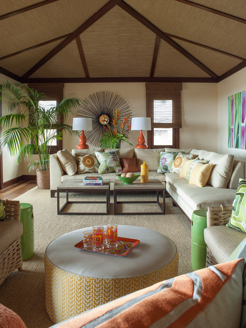 purple sofas for sale dfs large corner sofa bed vacation villa, hawaii - tropical living room ...