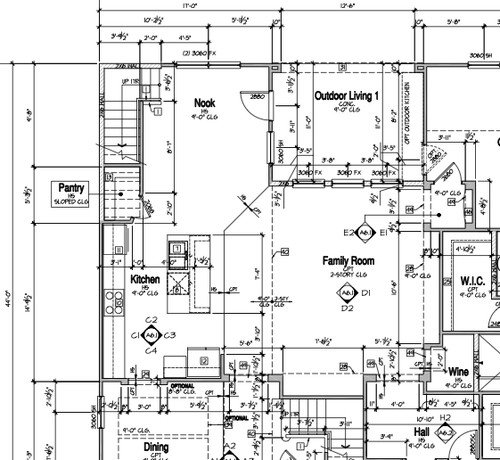 Location of Floor Plug & Living Room Layout