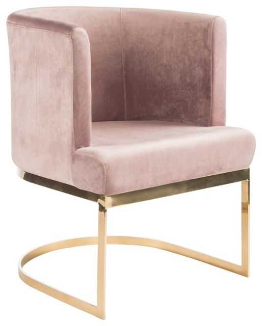 gold dining chairs teal chair sashes hazel pink set of 2 contemporary by statements j