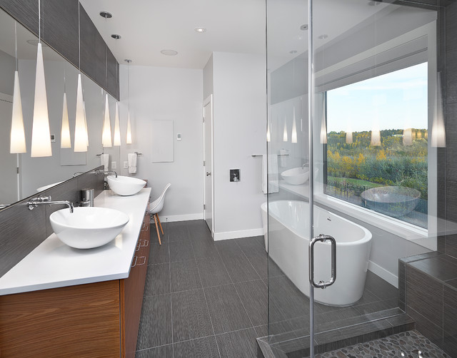 Ensuite  Contemporary  Bathroom  Edmonton  By Habitat
