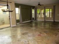 Countertop help with slate floors