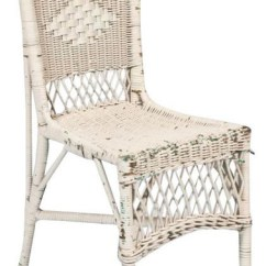 Antique Wicker Chairs Training Room Singapore Sold Out Vintage White Chair 450 Est Retail 125 On Home Design Jpg