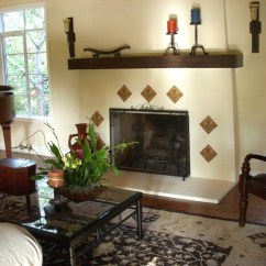 Nook Style Kitchen Table Colored Sinks Spanish Colonial Revival - Traditional Living Room San ...