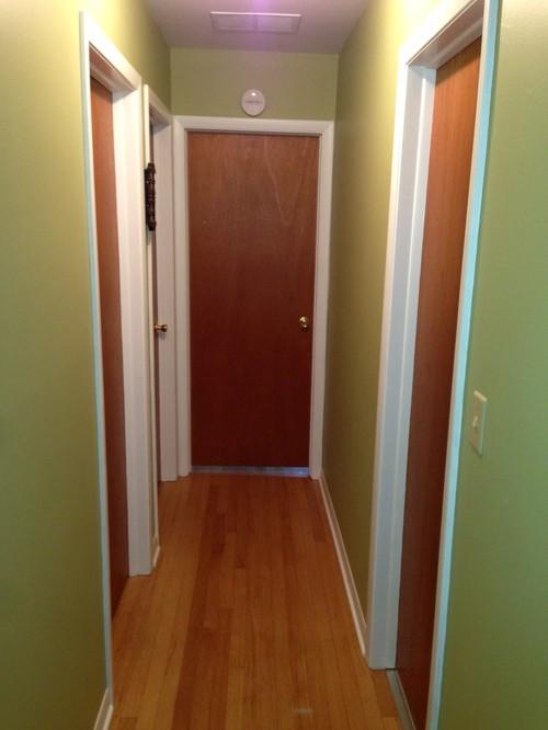 New Doors Make This Hallway Look New