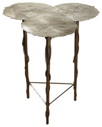 Global Views Trois Lily Pad Table - Side Tables And End ...