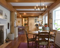 Traditional Colonial - Farmhouse - Dining Room ...