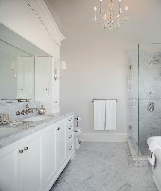 Manhattan Beach  Cape Cod  Traditional  Bathroom  los angeles  by MODEL DESIGN INC