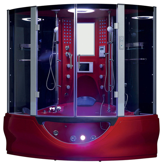 Maya bath - Valencia Steam Shower Sauna With Jacuzzi ...