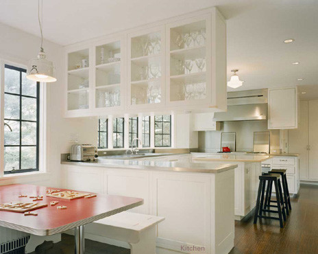 Abelow Sherman Architects LLC Contemporary Kitchen New York