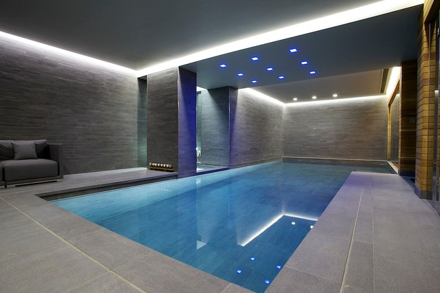 Photos Indoor Luxury Swimming Pool Surrey Modern Pool Other