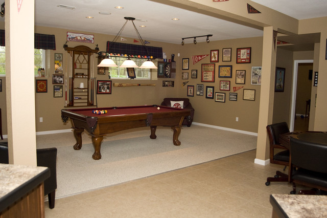 kitchen remodeling st louis stand alone cabinets best deals cardinals basement - traditional ...