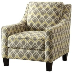 Yellow Upholstered Accent Chair Pottery Barn Kids Beach Coaster Gray And Armchairs