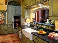 Chateau-inspired family home - Eclectic - Kitchen ...