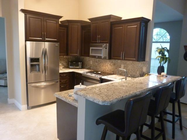 panda kitchen cabinets professional home appliances dark chocolate thermofoil - ...