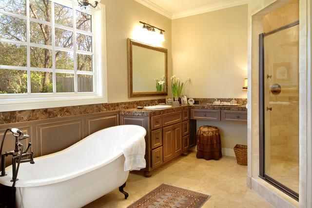 Austin Bathroom Remodeling Ideas  Contemporary  Bathroom  Austin  by On Time Baths  Kitchens