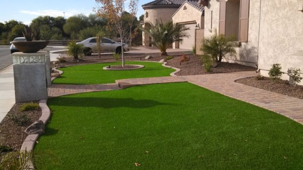 arizona front yard landscape design