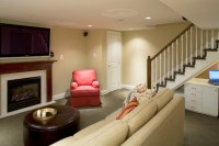 Row Home Remodel - Traditional - Basement - Baltimore - by ...