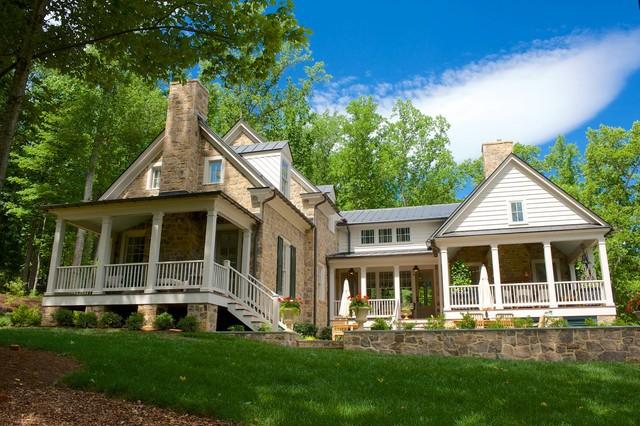 2015 Southern Living Magazine Idea House Farmhouse Exterior
